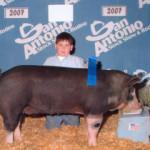 2007 Show Pig Winners