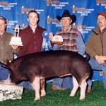 2002 Show Pig Winners