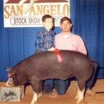 2003 Show Pig Winners