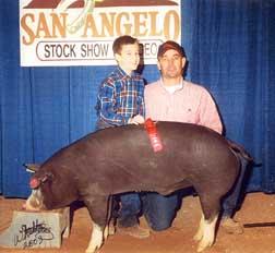 2003 San Antonio2nd Place heavy weight Black OPB