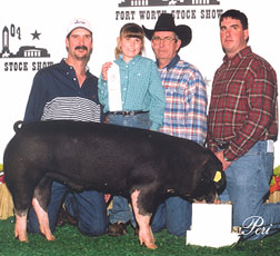 2004 Fort Worth3rd Place middle weight Spot