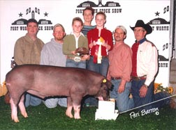 2005 Fort WorthReserve Champion Black OPB