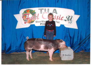 2005 Fall ClassicReserve Champion Spot